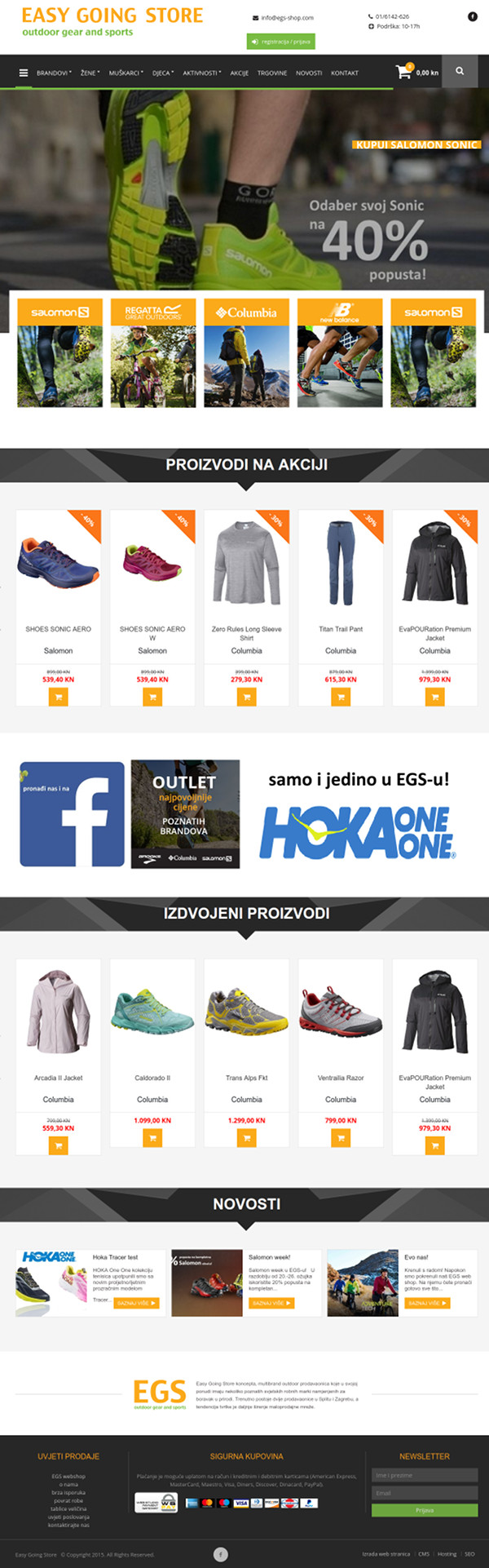 Easy Going Store webshop